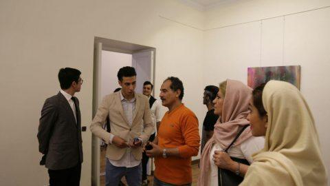 گالری سعدآباد میزبان سین هفتم سینا ایراننژاد