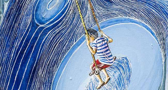 اثری از امید معصومی در گالری اعتماد