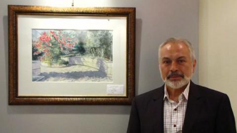 گفتوگو با محسن ترقی جاه در مورد نمایشگاه آبرنگ و طراحی