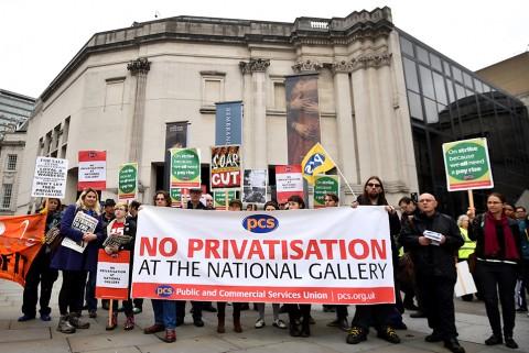 اعتصاب کارمندان موزه در بریتانیا برای افزایش حقوق