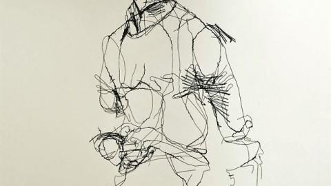مجسمه های سیمی دیوید الیویرا