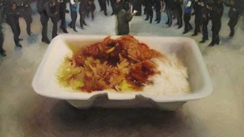 نقاشی های یاسر میرزایی در نگارستان آن