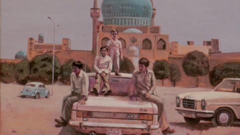 نقاشی های حسین سلطانی در گالری هما