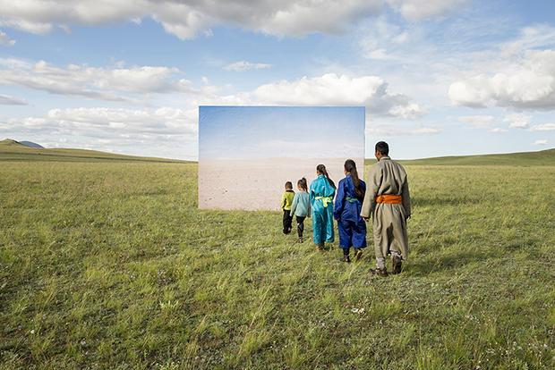 عکس های دائسونگ لی از عشایر مغولستان