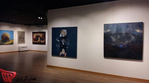 برگزیدگان کمپین هنری پارس آنلاین در گالری آس