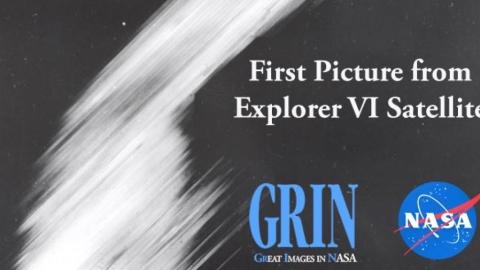 ۱۴ اوت سال ۱۹۵۹ میلادی و اولین تصویر ماهواره ای