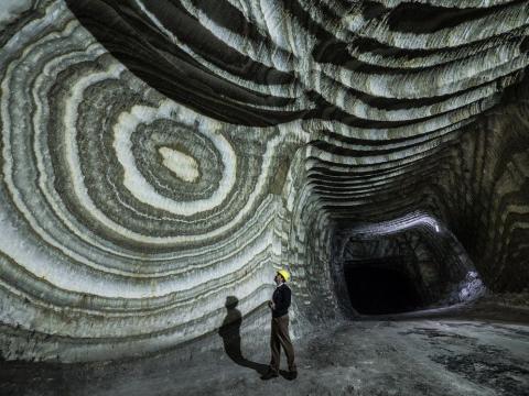 تونل ها و کلیساى نمکى سیسیلی