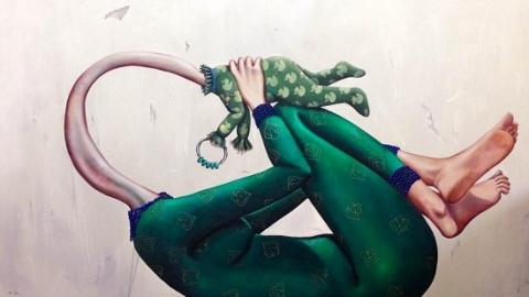نمایشگاه متولدین مرموز دنیای ذهن سارا اشرفی در سویس