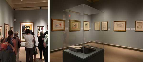 نمایش آثار هانری لوترک در موزه هنر فنیمور، نیویورک