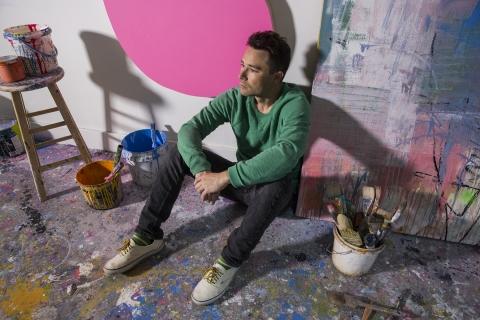 دیوارنگاری HENSE در پردیس دانشگاهی کورتین پرت
