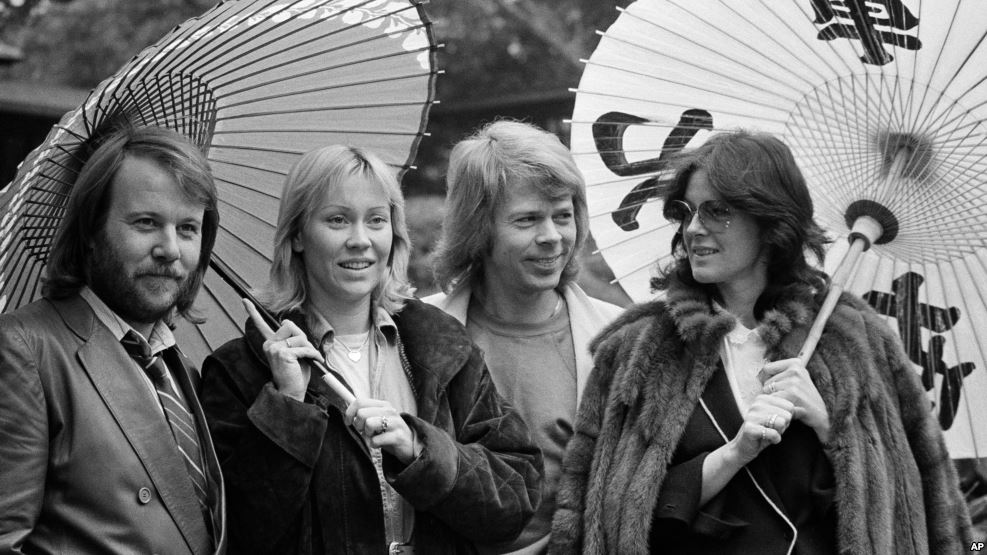 بازگشت گروه موسیقی آبا پس از ۳۵ سال