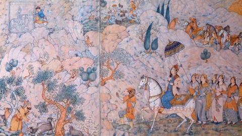بهزاد و اهمیت مکتب او همین طور هنر نقاشی مینیاتور