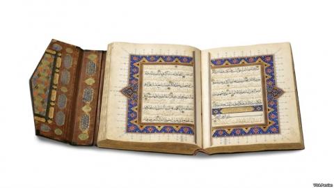 نخستین نمایشگاه هنر قرآن در آمریکا