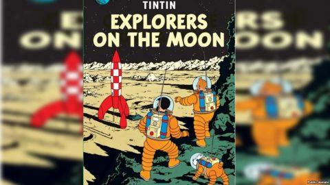 تن تن و کاشفان روی ماه رکورد شکستند