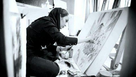 گفتگو با هما حسینیان هنرمند نقاش