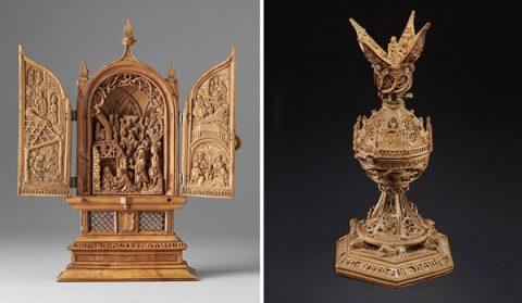 منبت کاری های چوبی مینیاتوری قرن شانزدهمی و رازهایشان