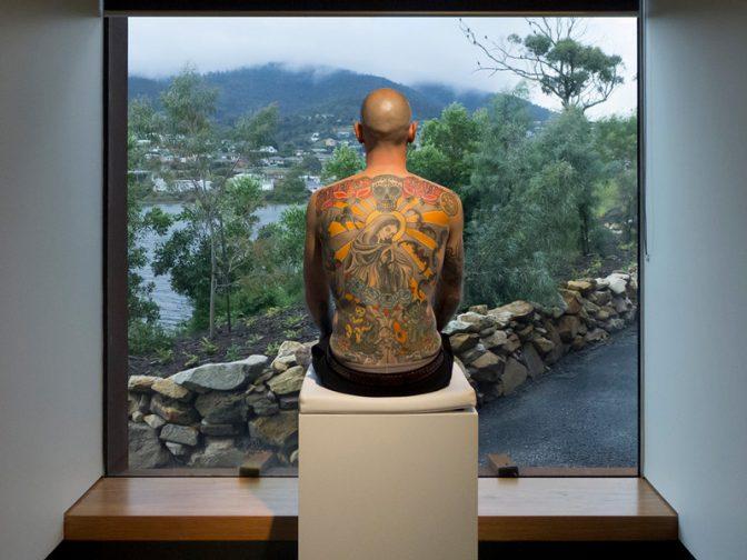 مردی که پوستش تبدیل به اثر هنری شد