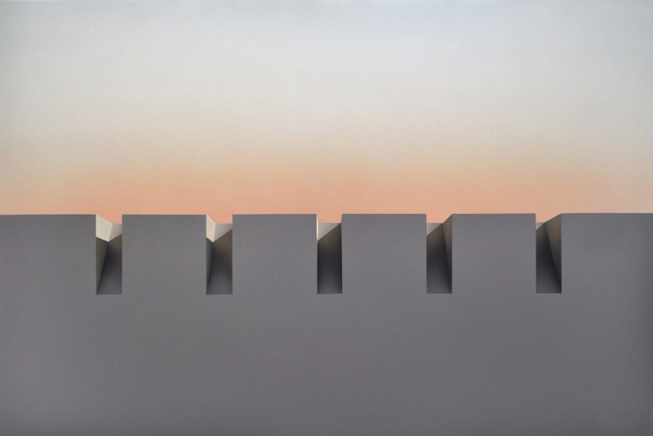 نمایشگاه آثار نقاشی آرمانی سوررئالیست مهدی قدیانلو در لندن