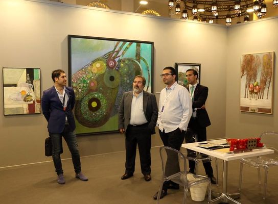 گالری های ایرانی در آرت دبی پرطرفدار بودند