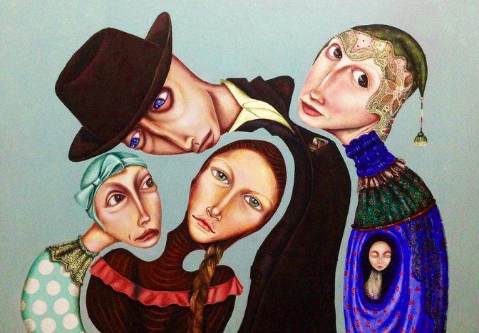 سارا اشرفی هنرمند با آثاری ویژه به سویس رفت
