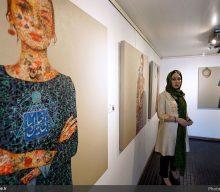 مروری بر نقاشی های سولماز توحیدلو در گالری سیحون