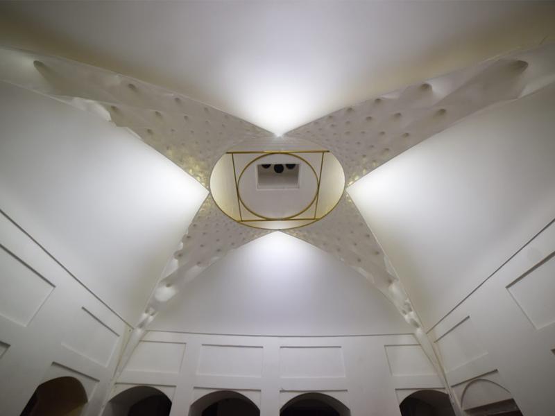 پروژه آسمانه نوریه کرمان و نقش نور در معماری ایرانی