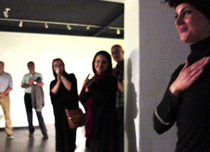 یاداشتی بر اجرای سارا بهراد در گالری آریا