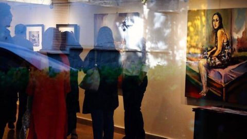 روایتی از نقاشی های شبنم شعبانی در گالری گلستان