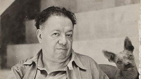 دیگو ریورا نقاش مشهور مکزیکی