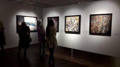 مروری بر نمایشگاه های نیمه مهر در گالری آریانا