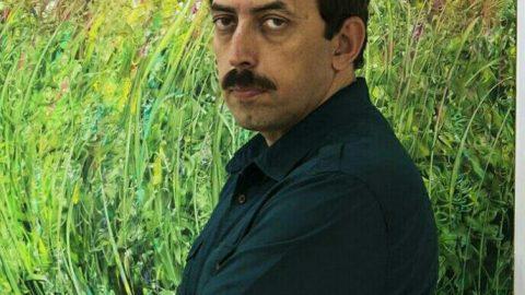 نقد و روایت جنون گیاهی مجموعه نقاشی از علیرضا قوجاری