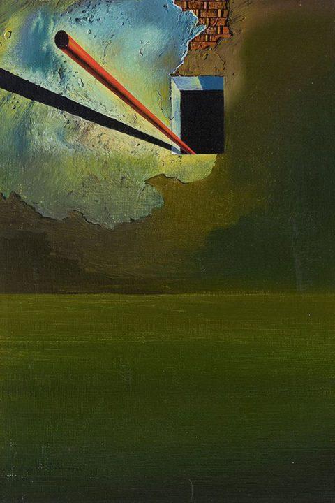 نمایش اثر نقاشی کشف شده دالی در نیویورک