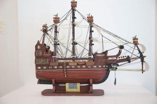 مدل چوبی کشتی اثر معاذ العلوی