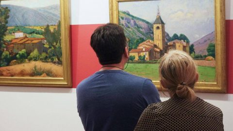 مجموعه نقاشی موزه اتین ترو فرانسه جعلی از آب درآمد!