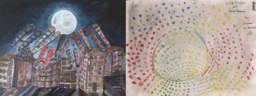 دوربینها به سوی ماه اثر احمد ربانی و سرگیجه در گوانتانامو اثر عمار البلوچی