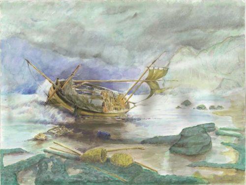 کشتی شکسته اثر جمال امیزیانی