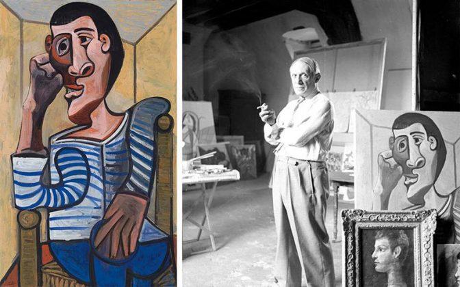 نقاشی۷۰ میلیون دلاری پابلو پیکاسو پیش از فروش آسیب دید