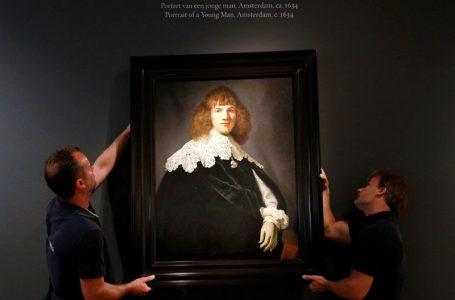 رونمایی از یک اثر تازه رامبراند نقاش مشهور هلندی
