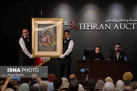 رکورد نهمین حراج تهران با ۳۲ میلیارد تومان