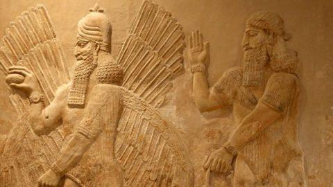 حراج سنگ نگاره سه هزار ساله آشوری در نیویورک