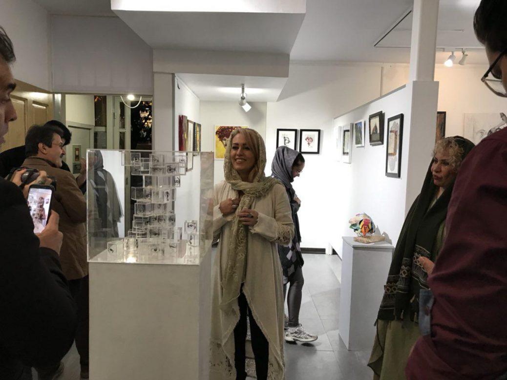 گزارشی از یک نمایشگاه به کیوریتوری هانی نجم