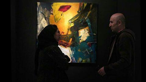 روایتی از آثار نقاشی مهشید رحیم تبریزی در گالری فرشته