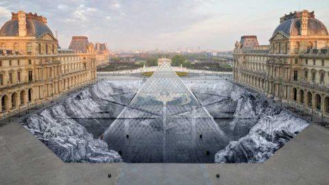 چرا چیدمان هنری هرم موزه لوور بلافاصله تخریب شد؟