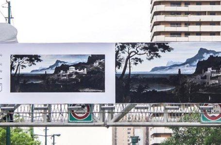 لذت دیدن آثار هنری در زیر آسمان شهر