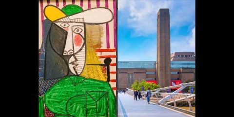 حمله به تابلوی پیکاسو در موزه تیت مدرن لندن