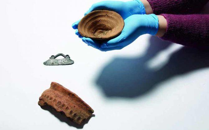ظروف یک بار مصرف ۳۶۰۰  ساله مینوسیها