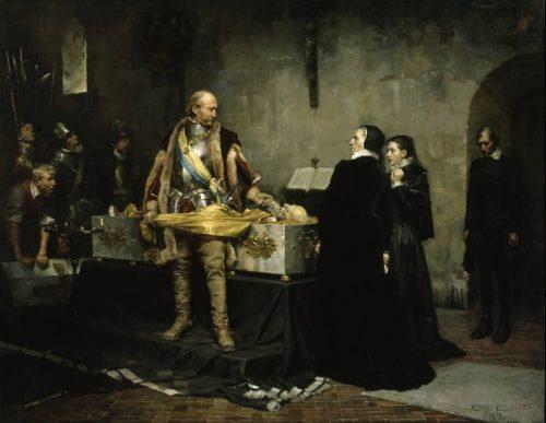 اهانت دوک چارلز به جسد کلاوس فلمینگ