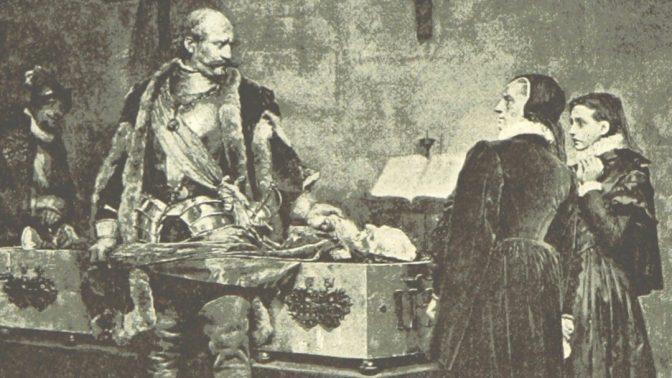 غرور و اصالت؛ نگاهی به تابلوی اهانت دوک چارلز به جسد کلاوس فلمینگ