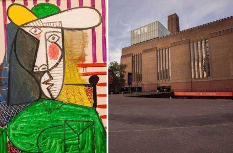 تخریبگر جوان نقاشی پابلو پیکاسو در موزه تیت مدرن زندانی شد