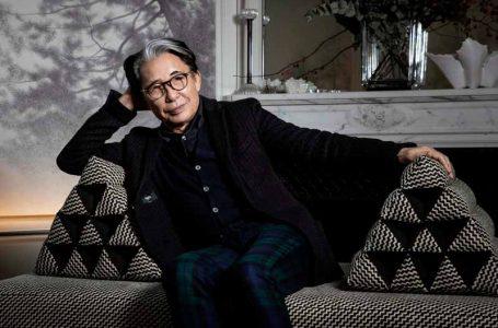 کنزو تاکادا طراح مد درگذشت